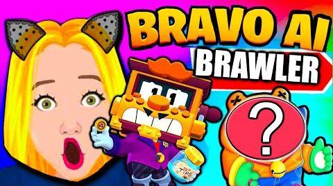 Смотреть онлайн BRAVO AI BRAWLER IN BRAWL STARS