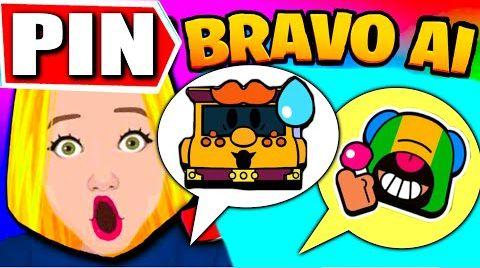 Смотреть онлайн BRAVO AI PIN IN BRAWL STARS