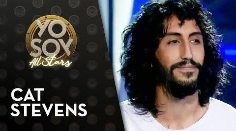 "Смотреть онлайн Joaquín Bravo encantó con ""Sad Lisa"" de Cat Stevens - Yo Soy All Stars"