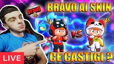 Смотреть онлайн [LIVE] BRAVO AI SKIN CU ABONATI  | BRAWL STARS ROMANIA