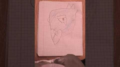 Смотреть онлайн Рисунок ворона из браво Старс пиши в коментариях каво мне ещё нарисовать